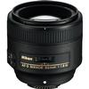 Nikon AF-S Nikkor 85mm f/1.8G Medium Telephoto Portrait Lens - Black
