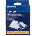Olympus 100 prints for P-10 and P-11 digital photo printer (paper and ribbon)