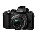 Olympus E-M10 16.1MP Micro Four Thirds Camera  with 14-42mm R Lens-Black