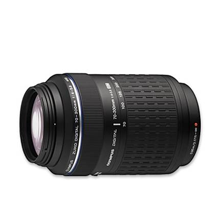 Olympus Zuiko ED 70-300mm f/4.0-5.6 Super Telephoto Zoom Lens - Black