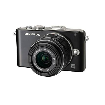Olympus E-PL3 with 14-42mm Lens (Black)