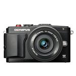 Olympus PEN E-PL6 Mirrorless Micro 4/3 Camera with 14-42mm II Lens - Black