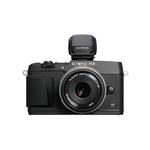 Olympus E-P5 Mirrorless Camera (Black) w/ VF-4 and 17mm Lens (Black)