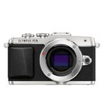 Olympus PEN E-PL7 16MP Micro Four Thirds Camera (Body Only)-Silver