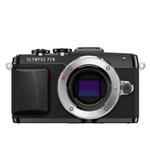 Olympus PEN E-PL7 16MP Micro Four Thirds Camera (Body Only)-Black