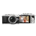 Olympus PEN E-PL7 16MP Micro Four Thirds Camera with 14-42mm EZ Lens-Silver