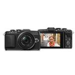 Olympus PEN E-PL7 16MP Micro Four Thirds Camera with 14-42mm EZ Lens -Black