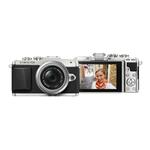 Olympus PEN E-PL7 16MP Micro 4/3 Silver Body with 14-42mm EZ Silver Lens