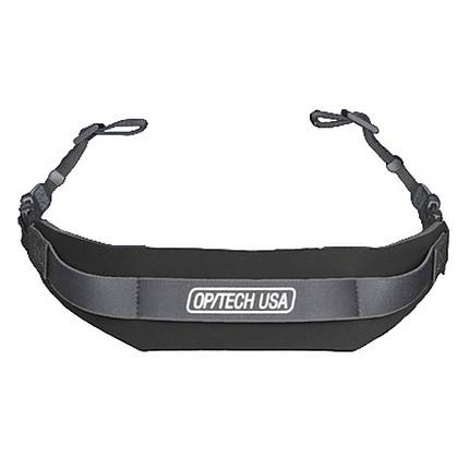 OPTECH Pro Strap Black With 3/8 Webbing Connectors