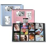 Pioneer 4 x 6 In. Collage Embossed Baby 4-UP Photo Album (240 Photos) - Pink