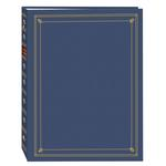 Pioneer APS 3-Ring Bi-Directional Memo Photo Album - Bay Blue