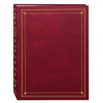 Pioneer APS 3-Ring Bi-Directional Memo Photo Album - Burgundy