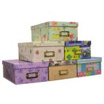 Pioneer 4 X 7 In. Designer Patterns Photo Albums Storage Box