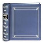 Pioneer Bi-Directional Memo Photo Album (200 4x6 photos) - Bay Blue