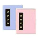 Pioneer Baby Metal Button Brag Photo Album (24 4x6 photos)-Assorted 12-pack