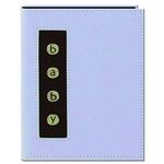 Pioneer Baby Metal Button Brag Photo Album (24 4x6 photos) - Blue