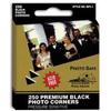 Pioneer Photo Albums Black Photo Corners (250 count)
