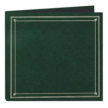Pioneer 4 x 6 In. Full Size Post Style Pocket Photo Album (204 Photos)-Green