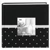 Pioneer Celebration Embroidered Frame Photo Album (200 4x6 photos) - Black