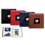 Pioneer Leatherette Frame Bi-Directional Photo Album - Assorted 4-Pack