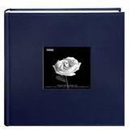 Pioneer Leatherette Frame Bi-Directional Photo Album (200 4x6 photos)- Blue