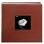 Pioneer Leatherette Frame Bi-Directional Photo Album (200 4x6 photos)-Brown