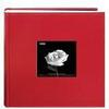 Pioneer Leatherette Frame Bi-Directional Photo Album (200 4x6 photos) - Red