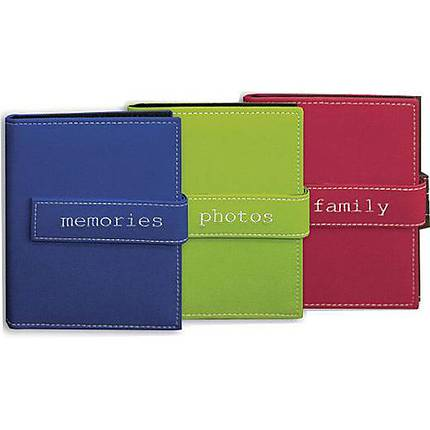 Pioneer Expressions Embroidered Photo Album (36 4x6 photos)-Assorted 12-Pack