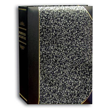 Pioneer 4 x 6 In. Ledger Bi-Directional Photo Album (300 Photos)-Silver