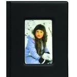 Pioneer Frame Cover Photo Album (24 4x6 photos) - Black