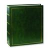 Pioneer Solid Cover Magnetic Photo Album (3 Ring 100 Photos) - Hunter Green