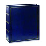 Pioneer Solid Cover Magnetic Photo Album (3 Ring 100 Photos) - Navy Blue