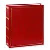 Pioneer Solid Cover Magnetic Photo Album (3 Ring 100 Photos) - Red