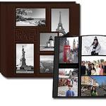 Pioneer Collage Frame Embossed Leatherette Travel Scrapbook (12x12)