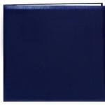 Pioneer 12 x 12 In. Top Loading Leatherette Cover Scrapbook - Navy Blue