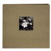 Pioneer 12 x 12 In. Silk Frame Scrapbook (20 Pages)