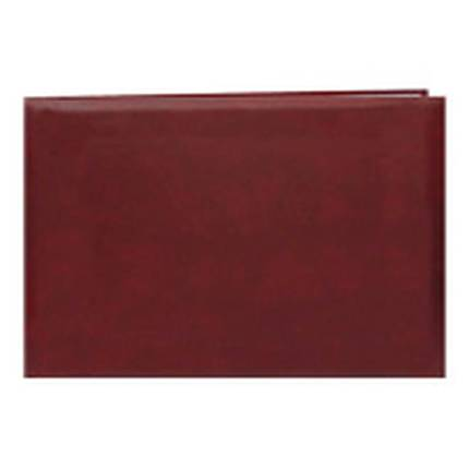 Pioneer 5 x 7 In. Top Loading Leatherette Cover Scrapbook - Burgundy