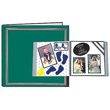Pioneer 11.25 X 11.75 Scrapbook (50 Pages) (25 Sheets)