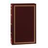 Pioneer 4 x 6 In. Pocket 3-Ring Binder Photo Album (300 Photos) - Burgundy
