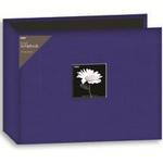 Pioneer 12X12 3-Ring Binder Fabric Frame Scrapbook - Blue