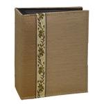 Pioneer Tone Fabric Series Photo Album (100 4x6 photos) - Tan