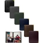 Pioneer Oxford Brass Corner Photo Album (208 Photos) - Assorted 12 Pack