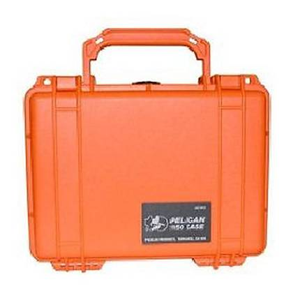 Pelican 1450 Orange Case