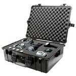 Pelican 1600 Water Tight/Pick  and  Pluck Foam Case (Black)