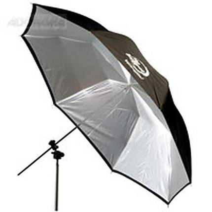 Photogenic 45in White/Black Umbrella