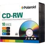 Polaroid CD-RW 80 Data Slim Case 10 Pack