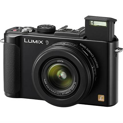 Panasonic Lumix DMC-LX7 10.1 Megapixel Digital Camera - Black