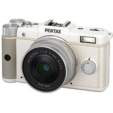 Pentax Q Digital Camera with 8.5mm Lens (White)