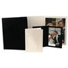 Unique Photomounts 4x6 Black SR Slip Folder (25)