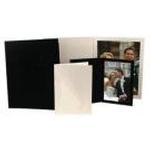 Unique Photomounts 8x10 Black SR Slip Folder (25)